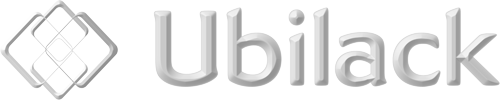 Ubilack Vit logotyp